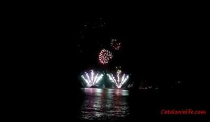 Embedded thumbnail for Fireworks in Blanes 2014, day 2 (Granada) full video