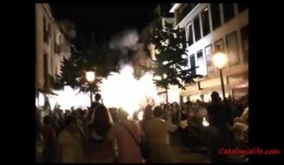Embedded thumbnail for Correfoc a Blanes 2014