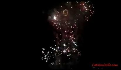 Embedded thumbnail for Fireworks in Blanes 2014, day 4 (Slovakia)