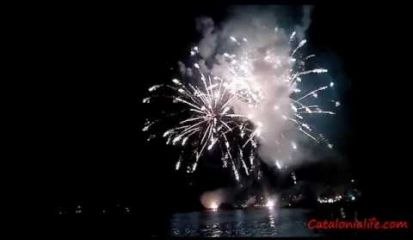 Embedded thumbnail for Fireworks in Blanes 2015, day 1 (Pirotecnia Valeca-Pir)(версия №1)