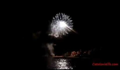 Embedded thumbnail for Fireworks in Blanes 2014, day 3 (Zaragoza)