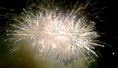 Embedded thumbnail for Fireworks in Blanes 2013