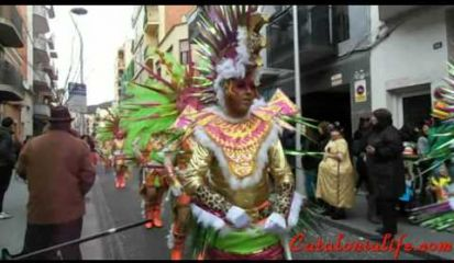 Embedded thumbnail for Carnaval 2014, Blanes