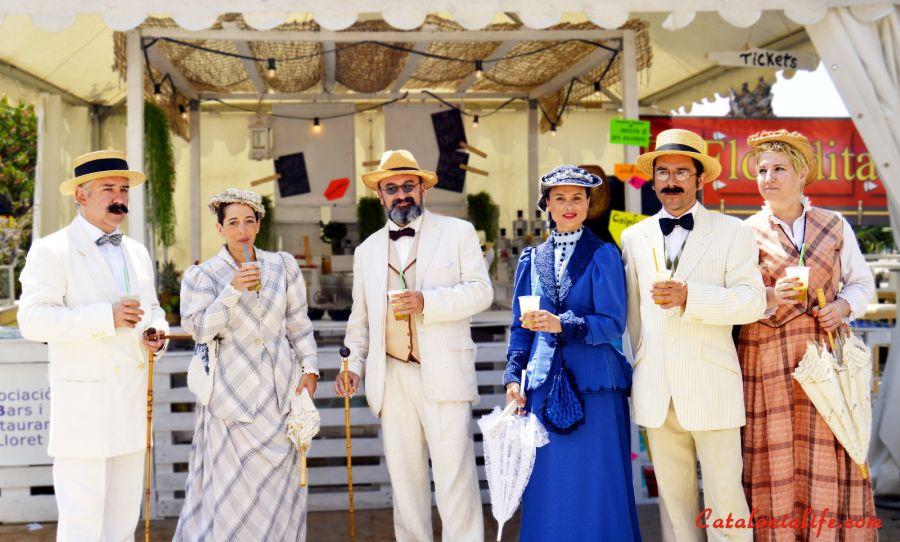Американская ярмарка в Ллорет де Мар, 2015 (V Fira dels Americanos de LLoret de Mar)