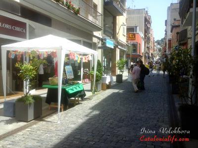 Время уличных расспродаж (Botiga al Carrer)!!!