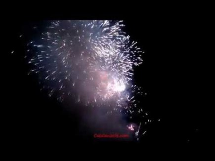 Embedded thumbnail for Fireworks in Blanes 2015, day 4. Pirotecnia Global Foc - Caballer FX Valencia, Spain. full video
