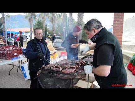 Embedded thumbnail for Праздник Сан Антонио в Англесе, 2017 год - приготовление бутифары