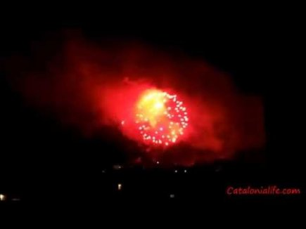 Embedded thumbnail for Fireworks in Blanes 2015, day 1 (Pirotecnia Valeca-Pir)(версия №2)