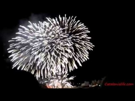 Embedded thumbnail for Fireworks in Blanes 2015, day 2 (Pirotecnia Fireworks Lieto, Italy) full video