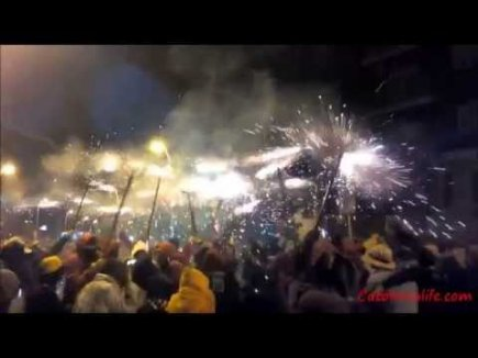 Embedded thumbnail for Correfoc a Blanes 2015