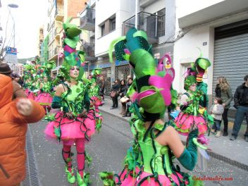Карнавал в Бланесе в 2014 г.