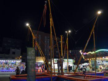 Главный Фестиваль в Бланесе 2015. Ярмарка аттракционов (Fiesta Mayor de Blanes 2015. Feria de Atracciones)