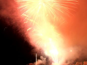 44-й Международный конкурс фейерверков Коста Брава в Бланесе 2014, День 1-ый Pirotecnia Tomás (Валенсия)