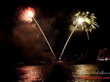 44-й Международный конкурс фейерверков Коста Брава в Бланесе 2014, День 3-ий - Pirotecnia Zaragozana (Сарагоса)