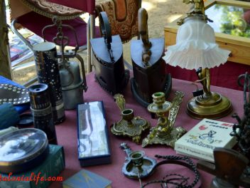 Ярмарка антиквариата (1a Fira d´Antiguitats a Blanes) 2015
