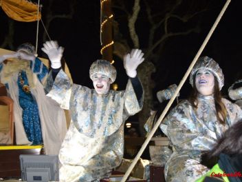 Шествие трех королей-магов в Испании, Шествие трех королей-магов в Бланесе