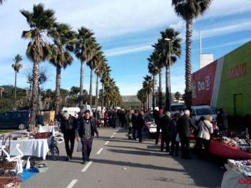 Праздник в честь Сан Антонио в Англесе (Anglès) 2017: ярмарка антиквариата