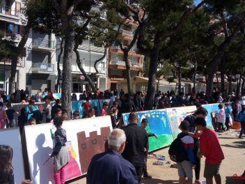 30-ый конкурс рисунков в честь праздника Сант Джорди (Святой Георгий)(Бланес, Испания, 2017) / XXX Concurs Sant Jordi de murals al carrer (Blanes, Espana, 2017)