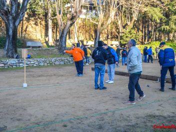 Фестиваль Сан Антонио в Англесе, 2019: Соревнование по петанку в садах Кан Сендра