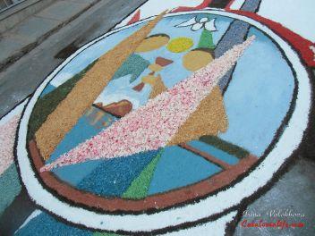Фестиваль «Ковры из цветов» в Бланесе 2014 г. (Estores de Flors de Raval. Blanes 2014)
