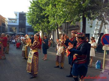 """Интернациональный фестиваль фольклёра """"Moonlight Events"""" в Бланесе, 2015 (Internacional Folklore Festival  """"Moonlight Events"""" en Blanes, 2015)"""