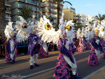 карнавал,2015,Ллорет-де-Мар,карнавальные костюмы,Каталония,карнавал 2015,фестиваль,танцы,культура,Испания,Коста Брава