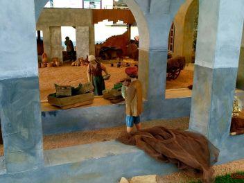 Рождественский Белен в Бланесе - неизменный атрибут испанского Рождества