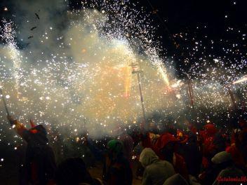 Коррефок в Бланесе 2016 (вторая часть) / Correfoc Blanes 2016 (la segunda parte)