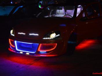 Blanes Motor Days 2k18, Iluminación