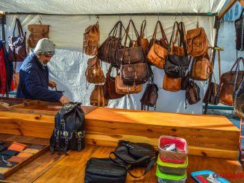 Фестиваль Сан Антонио в Англесе, 2019: Магазины и палатки с натуральными продуктами на улице Индустриальной (часть #2)