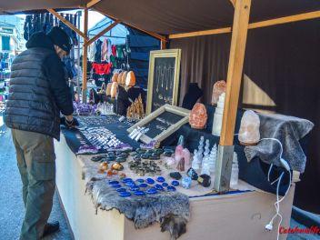 Фестиваль Сан Антонио в Англесе, 2019: Магазины и палатки с натуральными продуктами на улице Индустриальной (часть #3)