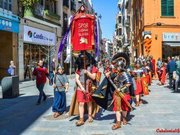 Шествие римских легионеров-юниоров (Манайес) в Бланесе / Manaies Juniores de Blanes